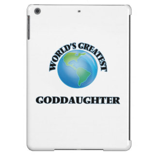 World's Greatest Goddaughter iPad Air Cover