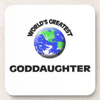 World's Greatest Goddaughter Coaster