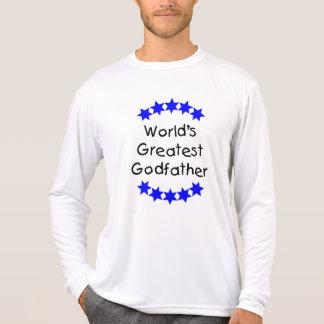 World's Greatest Godfather (blue stars) T Shirts