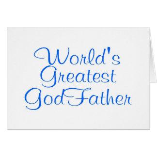 Worlds Greatest GodFather Card