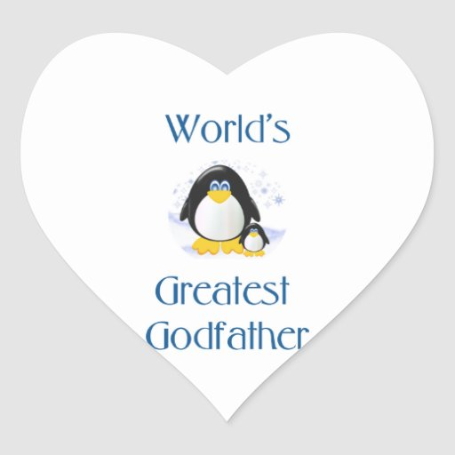 World's Greatest Godfather (penguin) Stickers