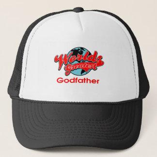 World's Greatest Godfather Trucker Hat