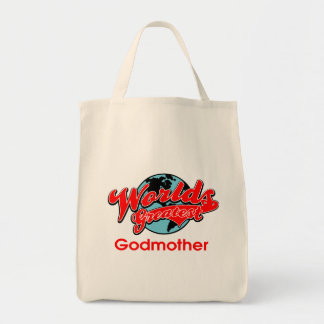 World's Greatest Godmother Tote Bag