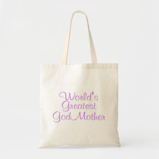 Worlds Greatest GodMother Tote Bags