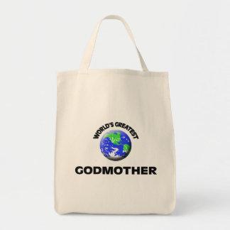 World's Greatest Godmother Bag