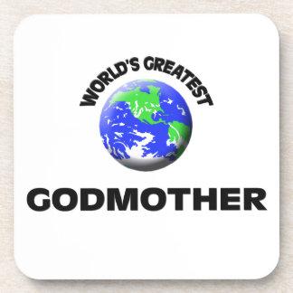 World's Greatest Godmother Coasters