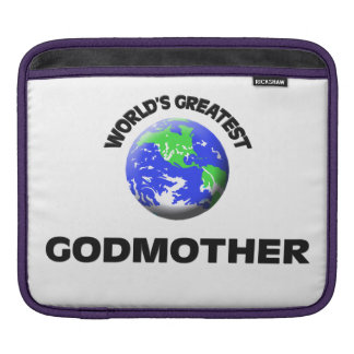 World's Greatest Godmother iPad Sleeve