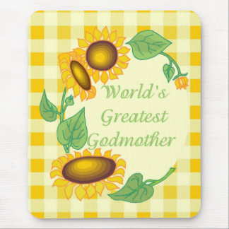 World's Greatest Godmother Mouse Pad