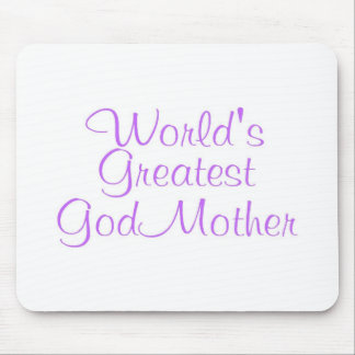 Worlds Greatest GodMother Mouse Pad