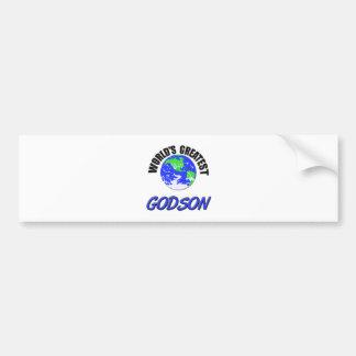 World's Greatest Godson Bumper Stickers