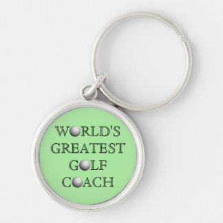World's Greatest Golf Coach Keychain