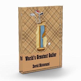 World's Greatest Golfer Award