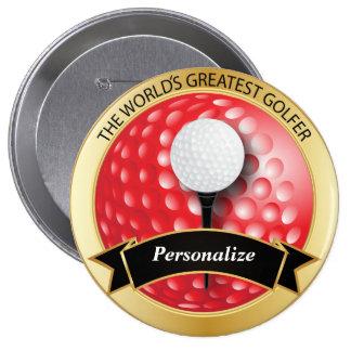 World's Greatest Golfer Button