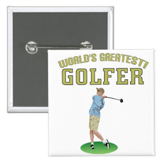 World's Greatest Golfer! Buttons