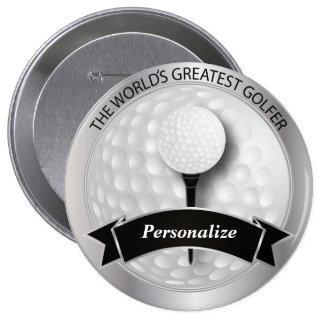World's Greatest Golfer | DIY Name Button