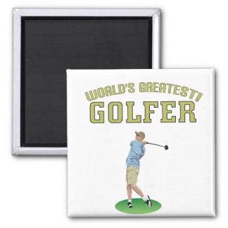 World's Greatest Golfer! Fridge Magnets
