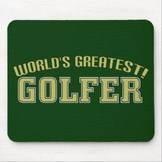 World's Greatest Golfer! Mousepad