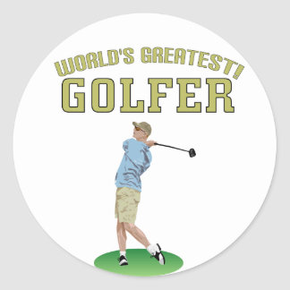 World's Greatest Golfer! Sticker