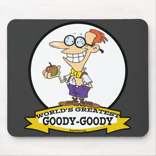 WORLDS GREATEST GOODY GOODY CARTOON MOUSEPAD