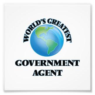 World's Greatest Government Agent Photo Art