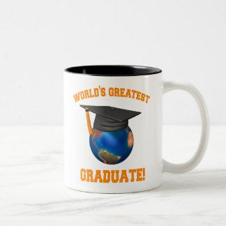 World's Greatest Graduate Two-Tone Coffee Mug