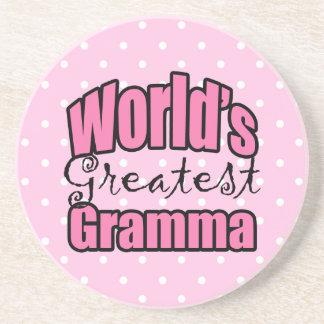 Worlds Greatest Gramma Beverage Coasters