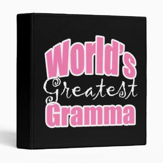 Worlds Greatest Gramma Binder