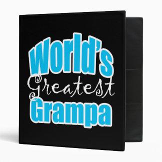 Worlds Greatest Grampa Binder