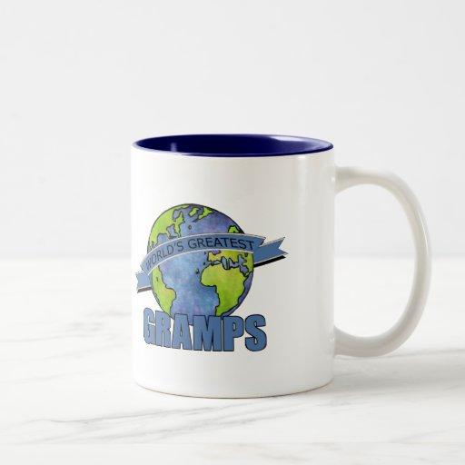 World's Greatest Gramps Two-Tone Coffee Mug