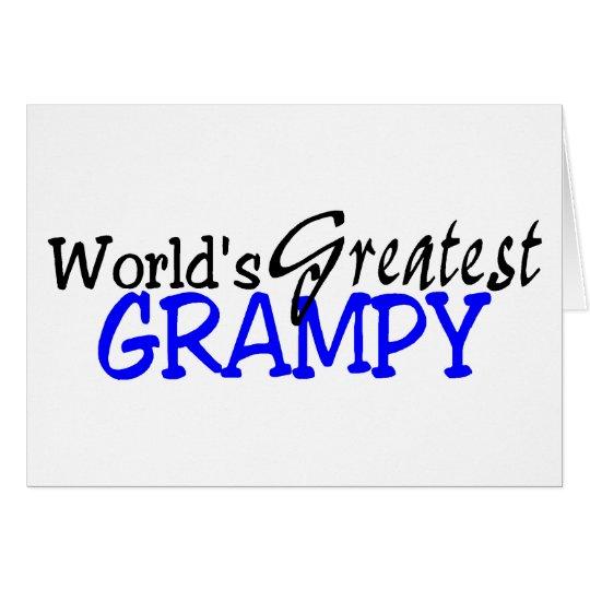 Worlds Greatest Grampy Card