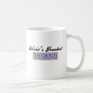 World's Greatest Gran Coffee Mug