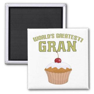 World's Greatest Gran! Fridge Magnet