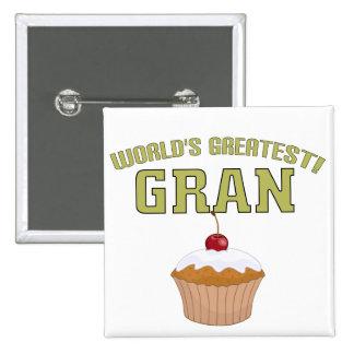 World's Greatest Gran! Pins