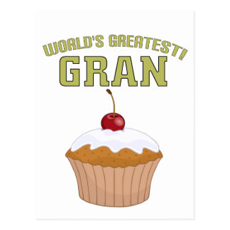 World's Greatest Gran! Postcard