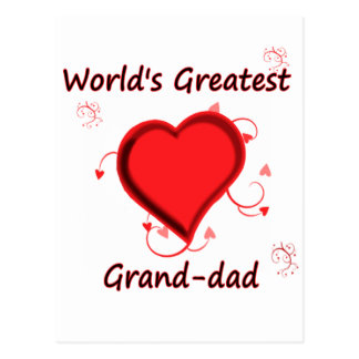 World's Greatest grand-dad Postcard