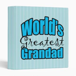 Worlds Greatest Grandad Binder