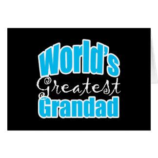 Worlds Greatest Grandad Stationery Note Card