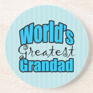 Worlds Greatest Grandad Coasters
