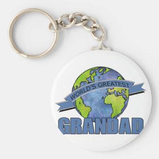 World's Greatest Grandad Keychain