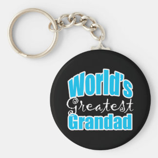 Worlds Greatest Grandad Keychain