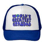 World's Greatest    Grandad Mesh Hat