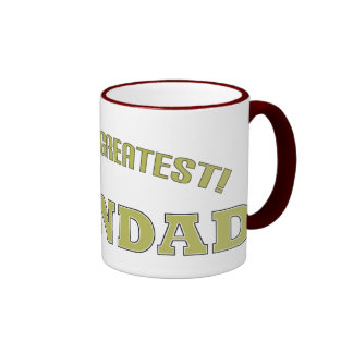World's Greatest Grandad! Mugs