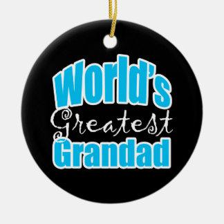 Worlds Greatest Grandad Ornaments
