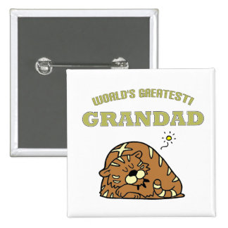 World's Greatest Grandad! Pinback Button