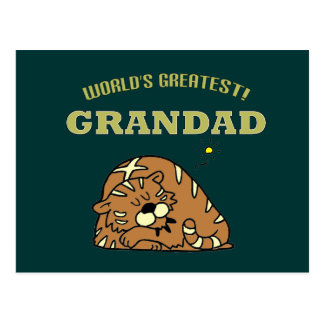 World's Greatest Grandad! Post Card
