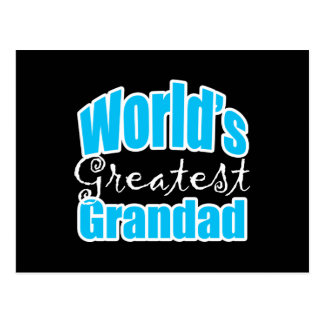 Worlds Greatest Grandad Postcards