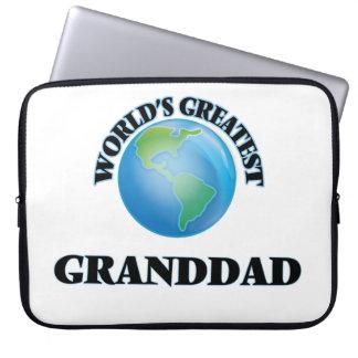 World's Greatest Granddad Laptop Sleeves