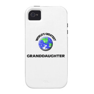 World's Greatest Granddaughter Vibe iPhone 4 Covers