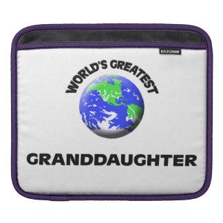 World's Greatest Granddaughter iPad Sleeve