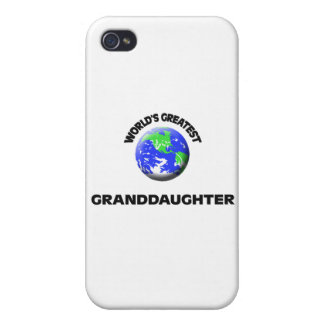 World's Greatest Granddaughter iPhone 4 Case